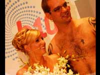 Naked Wedding Couples